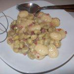 {Rezept} Gnocchi-Bohnen-Pfanne