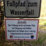 Urlaub vor der Haustür: Wasserfall Dreimühlen