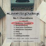 #LoveWritingChallenge – Weiblicher Charakter