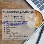 #LoveWritingChallenge – Visuell #1: Filme & Serien