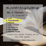 #LoveWritingChallenge – Freundschaft