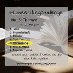 #LoveWritingChallenge – Versuchung