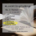 #LoveWritingChallenge – Mut & Angst
