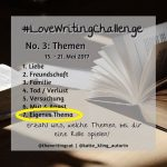 #LoveWritingChallenge – Religion & Glaube