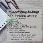 #LoveWritingChallenge – Weltenbau