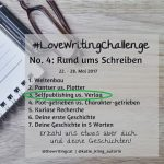 #LoveWritingChallenge – Selfpublishing vs. Verlag