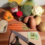 {Rezept} Kartoffel-Gemüse-Curry mit Tofu