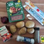 {Rezept} Vegane Kartoffel-Hack-Rolle
